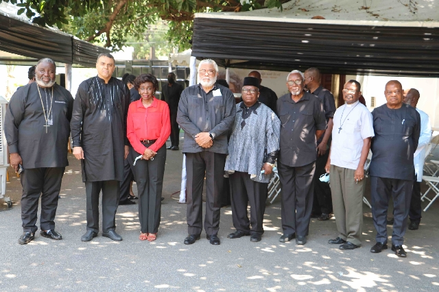 Togbe Afede, Coca-Cola, Lighthouse Chapel, others mourn with Rawlings, Agbotui family 5