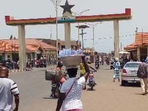 Ghana-Togo border