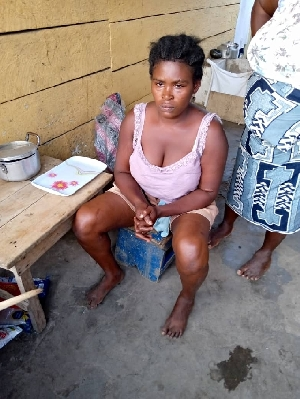 She allegedly fed the two-year-old boy and 8-month-old girl with rat poison
