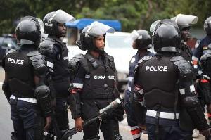 Ghana Police arrests 70 suspects in Kasoa