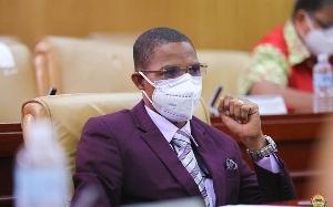 Madina MP Francis-Xavier Sosu