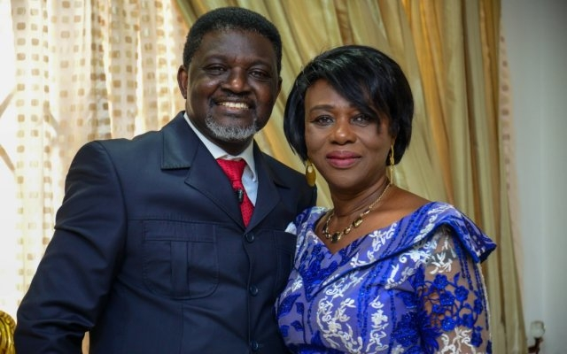Bishop Agyinasare and wife