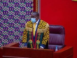 Speaker of Parliament, Mr Alban Bagbin
