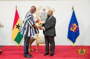 President Nana Akufo-Addo and Dan Botwe