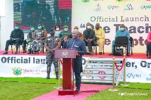 Vice-president Mahamudu Bawumia
