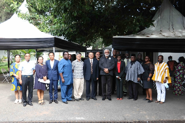 Togbe Afede, Coca-Cola, Lighthouse Chapel, others mourn with Rawlings, Agbotui family 4