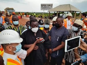 Road Minister in black