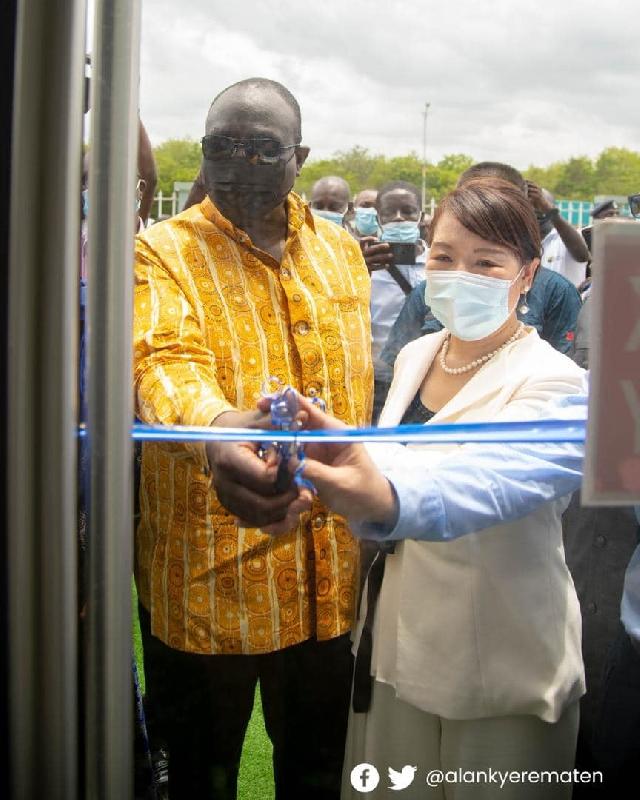 Trade Minister inaugurates new branch of Zonda Tech Ghana 57190773