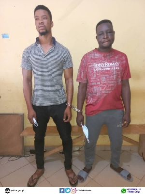 Two suspected robbers