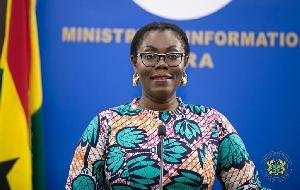 Minister for Communications, Ursula Owusu-Ekuful