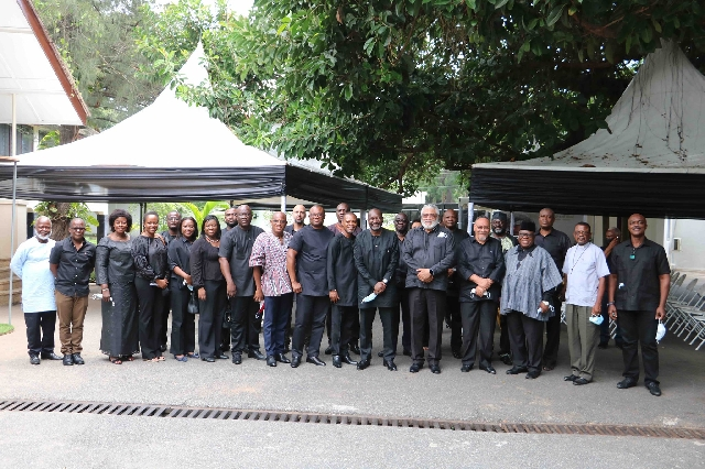 Togbe Afede, Coca-Cola, Lighthouse Chapel, others mourn with Rawlings, Agbotui family 3