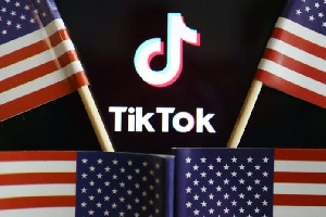 US and Tik Tok logos