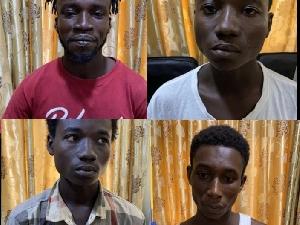 Suspected murderers