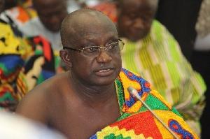 Ashanti Regional Minister designate Simon Osei Mensah