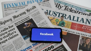 Facebook bans news feeds to Australian users