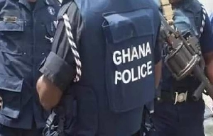The Police gunned down a suspect in Asante Mampong