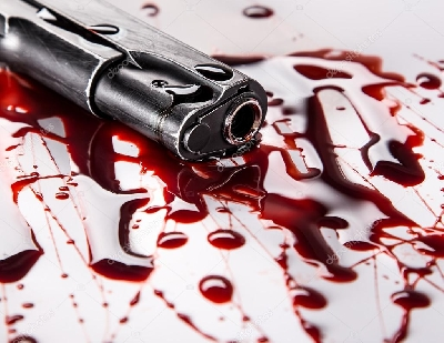 Two victims were shot in the robbery