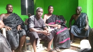 Paa Kwasi Anamua Sakyi now Nana Amoasi VII