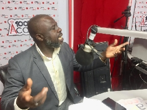 Fred Kwabena Asare speaks for GNAPS