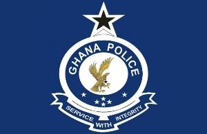 Ghana police badge
