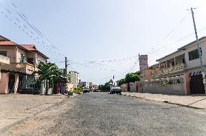 Lockdown - empty streets