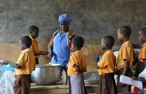 School feeding programme caterers to receive arrears after Easter holidays