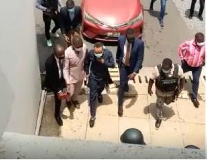 Owusu Bempah arriving in court