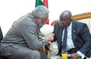 Rawlings and Akufo-Addo
