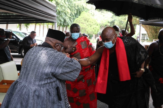 Togbe Afede, Coca-Cola, Lighthouse Chapel, others mourn with Rawlings, Agbotui family 2